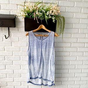 Calvin Klein Jeans Ombré Blue & White Tank Top XL